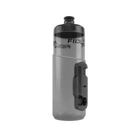 Fidlock Twist Single Bottle 600 incl. Connector, transparent black